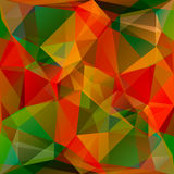 Abstract multicolored polygonal background Royalty Free Stock Image