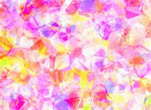 Abstract polygonal backgrounds texture. Abstract multicolored polygonal background texture Royalty Free Stock Photography