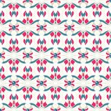 Abstract multicolored seamless pattern Stock Photography