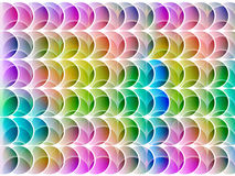 Abstract multicolored shapes Royalty Free Stock Image