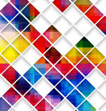 Abstract multicolored with small net Royalty Free Stock Photos