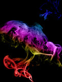 Abstract multicolored smoke Stock Images