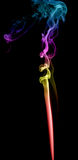 Abstract multicolored smoke Royalty Free Stock Images