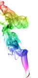 Abstract multicolored smoke Royalty Free Stock Image