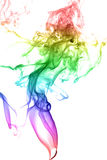 Abstract multicolored smoke Royalty Free Stock Photo