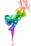 Abstract multicolored smoke Royalty Free Stock Photography