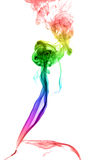 Abstract multicolored smoke Royalty Free Stock Photos