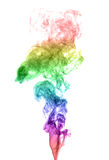 Abstract multicolored smoke Stock Image