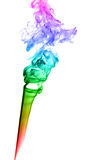 Abstract multicolored smoke Stock Photo
