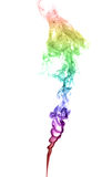 Abstract multicolored smoke Stock Photos