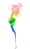 Abstract multicolored smoke Stock Photos