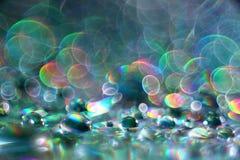 Abstract multicolored textuuronduidelijk beeld bokeh Royalty-vrije Stock Afbeelding