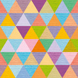 Abstract multicolored triangles decorative, background, illustration Stock Photography