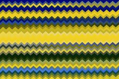 Abstract Multicolored Zigzag Stripes Texture for Background. Abstract yellow, blue and green background with zigzag stripes texture for website, banner, business stock photos