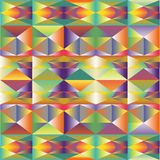 Abstract multicolour polygonal background Royalty Free Stock Photography