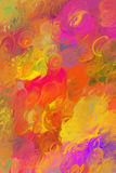 Abstract multicoloured background. Original abstract multicoloured background of twisting smutches Royalty Free Stock Photo