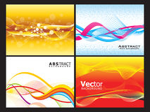 Abstract multiple background set Royalty Free Stock Photo