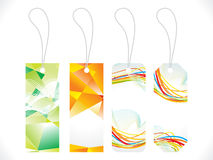 Abstract multiple colorful sale tag Royalty Free Stock Photo