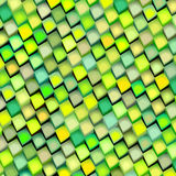 Abstract multiple green yellow backdrop. Abstract cubical multiple green yellow pattern backdrop Royalty Free Stock Photo