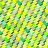 Abstract multiple green yellow pattern. Abstract cubical multiple green yellow pattern backdrop Stock Photo