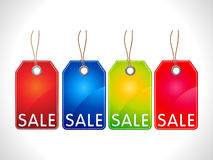 Abstract multiple sale tag Royalty Free Stock Photography