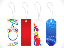 Abstract multiple sale tag Stock Image