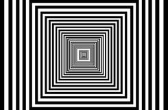 Abstract multiple squares are nested. The abstract multiple squares are nested, like a tunnel Royalty Free Stock Image