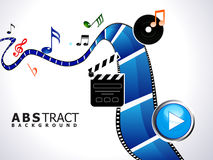 Abstract multiple video background Royalty Free Stock Images