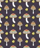 Abstract mushrooms Stock Image