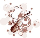 Abstract music background Royalty Free Stock Image