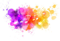 Free Abstract Music Background Royalty Free Stock Photo - 51508315