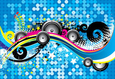 Free Abstract Music Background Royalty Free Stock Photos - 8111328