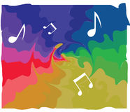Abstract Music Background. Design, illustration Stock Photo