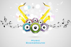 Abstract Music Background Stock Photos