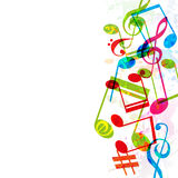Abstract music background,  Royalty Free Stock Photography