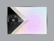 Abstract Music Background Illustration For Your Design Royalty Free Stock Images