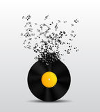 Abstract Music Background Vector Illustration for Stock Images