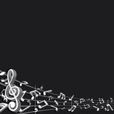 Abstract Music Background. Vector Image Stock Images