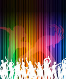 Abstract music dance background Stock Photography