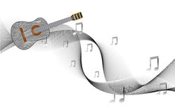 Abstract Music Design Element Royalty Free Stock Photo