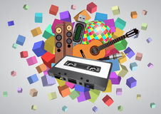 Abstract music Stock Photography