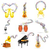 Abstract Music Element Royalty Free Stock Image