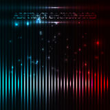 Abstract music equalizer. Stock Photo