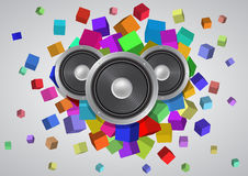 Abstract music Royalty Free Stock Image