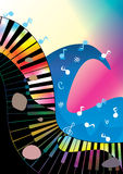 Abstract Music Ocean Rock And Roll_eps Stock Photos