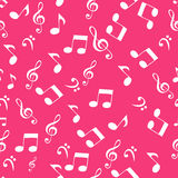 Abstract music seamless pattern background vector Stock Images