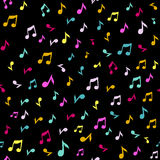 Abstract music seamless pattern background vector illustration for your design. Stock Photo