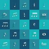 Abstract Music symbol Stock Photography