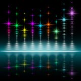 Abstract music volume equalizer concept background Royalty Free Stock Image