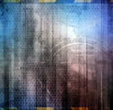 Abstract musical background Stock Photo